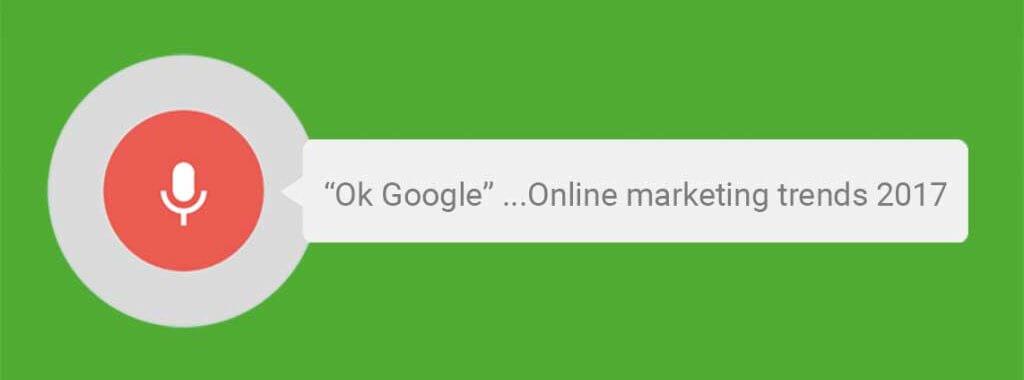 Top 5 online marketing trends voor 2017