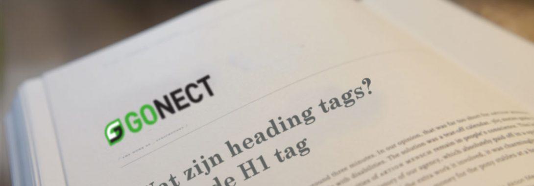Wat zijn heading tags? Zoals de H1 tag